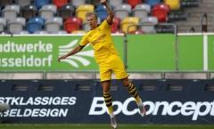 Dortmund thắng trận, NHM ca ngợi Haaland: 'Một chữ ký chất lượng, người hùng của đội bóng'