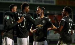Man Utd đụng độ 'cạ cứng' tại vòng 4 Cúp Liên đoàn Anh