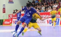 Lượt 10 giải futsal VĐQG: Tân binh Đắc Huy ghi bàn, Sahako chật vật giành 1 điểm