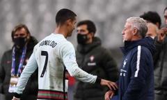 HLV Pháp hài lòng khi làm được 1 điều trước Ronaldo
