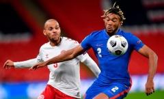 Bị đuổi ngay trận đầu đá chính cho đội tuyển, sao Chelsea vẫn được khen ngợi