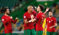 Không Ronaldo, tân binh Liverpool lập cú đúp giúp Bồ Đào Nha thắng đậm