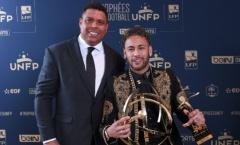 So sánh thành tích của Neymar với 'Người ngoài hành tinh' Ronaldo
