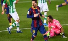 Barca thắng dễ, đồng đội ngay lập tức đưa Messi 'lên mây'