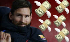 Chia tay Barca, Lionel Messi vẫn nhận về 60 triệu bảng