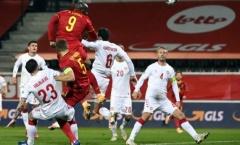 Lukaku nổ cú đúp, Bỉ trút cơn mưa bàn thắng vào lưới Đan Mạch