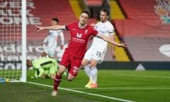 Diogo Jota viết nên lịch sử trong ngày Liverpool thắng vang dội