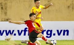 Thua đậm 'kỵ giơ' SLNA, U21 Long An hết cơ hội đi tiếp tại VCK U21 QG