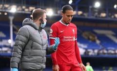 Klopp cập nhật tình hình chấn thương của Van Dijk