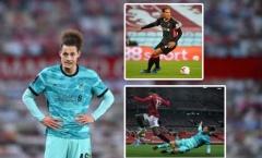 Liverpool ngã ngựa trước Man Utd: Điểm đen hàng thủ và nỗi nhớ Van Dijk