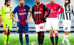Messi sút phạt thế nào khi so với Beckham hay Ronaldinho?