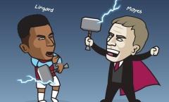 Cười té khói với loạt ảnh chế Lingard đến West Ham