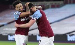 Rời Man Utd, Lingard trở thành 'bùa hộ mệnh' của West Ham