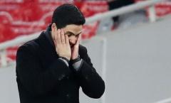 Hòa Benfica, Arteta chỉ ra điều thất vọng nhất về các học trò