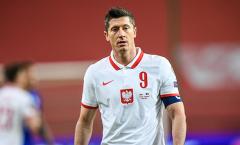 Dính chấn thương, Lewandowski bỏ lỡ trận đấu với tuyển Anh sắp tới