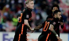 Sao Man Utd nổ súng trong ngày Hà Lan dội mưa gôn vào lưới Gibraltar