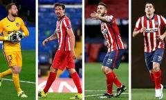 'Trục xương sống' đáng mơ ước của Atletico Madrid