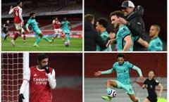5 điểm nhấn sau trận Arsenal 0-3 Liverpool: Quyết định bất ngờ của Klopp, 'cỗ máy đáng sợ' quay trở lại