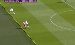 VAR vừa khước từ bàn thắng của Liverpool sít sao ra sao?