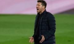 Atletico lại sảy chân, Simeone nhắc đến Real và Barca