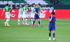 Đánh rơi chiến thắng, Atletico Madrid lỡ cơ hội bứt tốp với Real và Barca