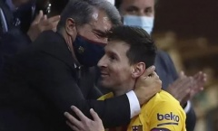 Vô địch Cope del Rey, chủ tịch Barcelona nói ngay về tương lai của Messi