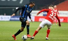 Đá ở Club Brugge cũng không xong, tương lai Tahith Chong như được xác định