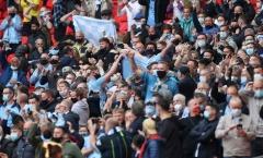 Niềm vui nhân đôi, Man City có màn ăn mừng đặc biệt nhất trời Âu