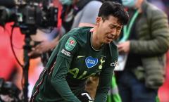 Son Heung-min khóc lớn, ngã quỵ xuống sân khi Spurs thất bại
