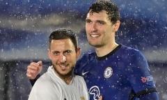 Hazard và Rudiger cùng làm 1 điều sau khi Chelsea hòa Real Madrid