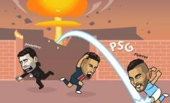 Cười té khói với loạt ảnh chế Man City thắng PSG