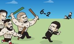 Cười té khói với loạt ảnh chế bán kết Europa League