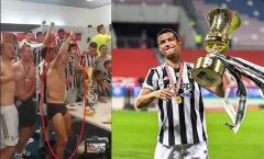 Lập kỷ lục vô tiền khoáng hậu, Ronaldo 'cởi hết' ăn mừng nhạy cảm