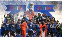 Inter ăn mừng Scudetto bằng chiến thắng 5 sao
