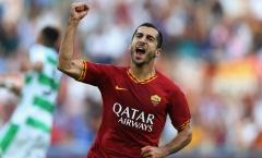 CHÍNH THỨC: Mkhitaryan gia hạn với AS Roma