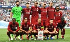 Sự thật chẳng ai ngờ về đội hình xuất phát Liverpool ở chung kết Champions League 2019