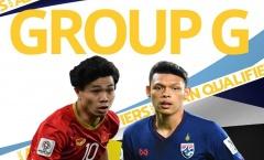 Cục diện bảng G sau lượt 8: Thái Lan vô vọng, ĐT Việt Nam vững ngôi đầu