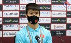 Sắp gặp UAE, Duy Mạnh tự tin về 1 điều ở tuyển Việt Nam