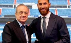 Sau tất cả, chủ tịch Perez nói lời thật lòng với Ramos