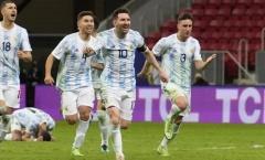 5 điểm nhấn Argentina 1-0 Brazil: El Clasico bạo lực; Lần đầu cho Messi