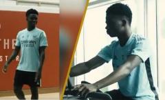 Arsenal đón sao trẻ ĐT Anh trở lại tập luyện