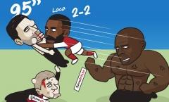 Cười té khói với loạt ảnh chế vòng 8 Premier League