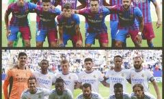 Đội hình kết hợp El Clasico: Real áp đảo, tân binh Barca góp mặt