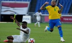 VAR gây thảm họa, Brazil chia điểm với ông lớn châu Phi