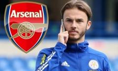 Leicester có câu trả lời cho Arsenal về thương vụ Maddison