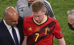 De Bruyne: 'Ý và Pháp có 22 cầu thủ hàng đầu, chúng tôi thì không'