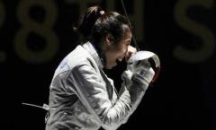 Kiếm thủ Lệ Dung 'gác kiếm' trước đương kim vô địch Olympic