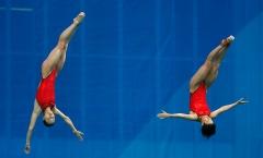 Những hình ảnh đẹp của VĐV nhảy cầu Olympic 2016