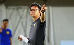 HLV của Malaysia và Myanmar theo dõi U22 Việt Nam thi đấu