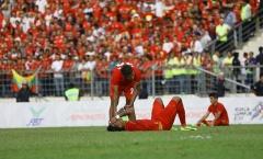 U22 Myanmar khóc nức nở sau thất bại trước Thái Lan